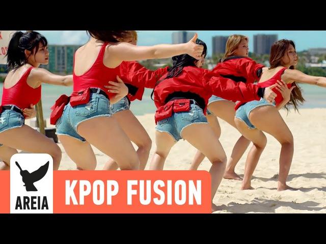 AOA - Good Luck   Areia Kpop Fusion 4