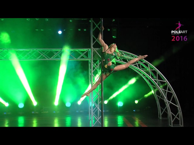Pole Art Ciprus 2016HANNA ANTONOVA Professional Category Women