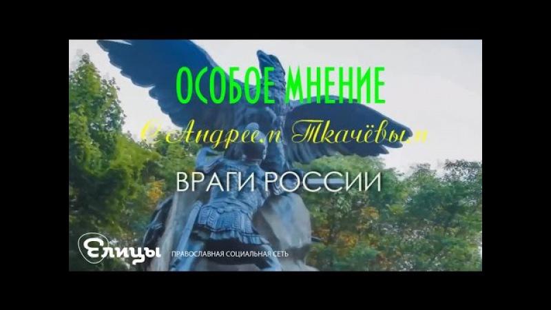 Враги России. о. Андрей Ткачёв. Особое мнение. Проповедь.
