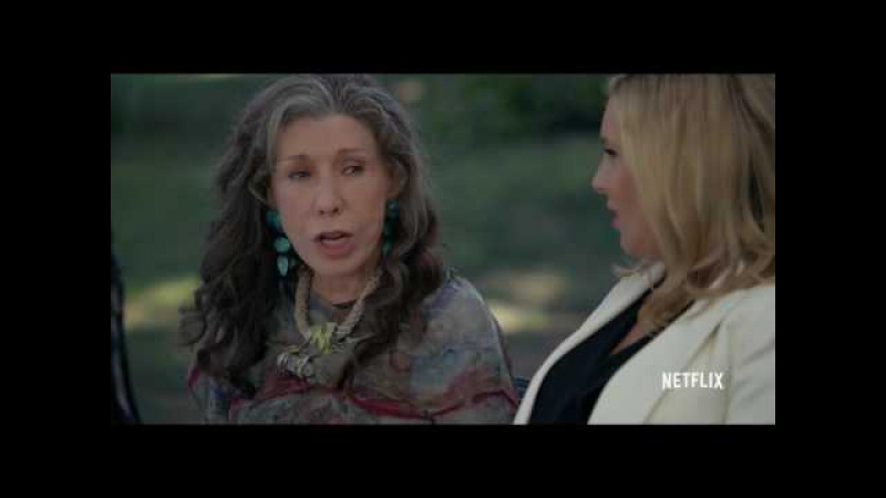 Трейле сериала «Грейс и Фрэнки — Grace and Frankie». Сезон 3.