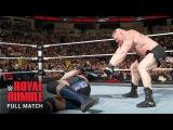 [#My1] FULL MATCH — Brock Lesnar vs. Big Show: Royal Rumble 2014