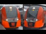 Электропоезда ЭС2Г-030 и ЭС2Г-014