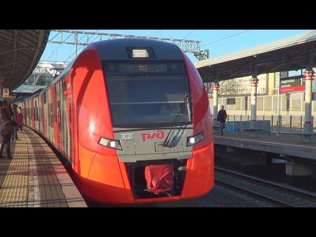 Электропоезд ЭС2Г-047 Ласточка, станция МЦК Андроновка
