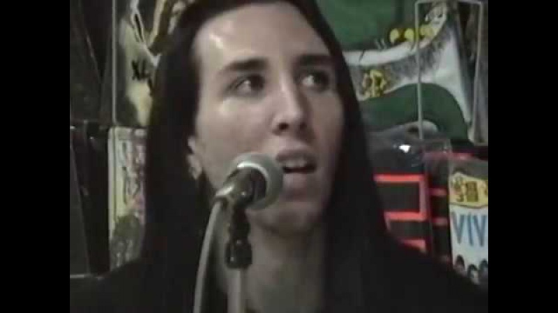 MARILYN MANSON - Live at YESTERDAY TODAY RECORDS - Miami - 1991 (Acoustic Show)