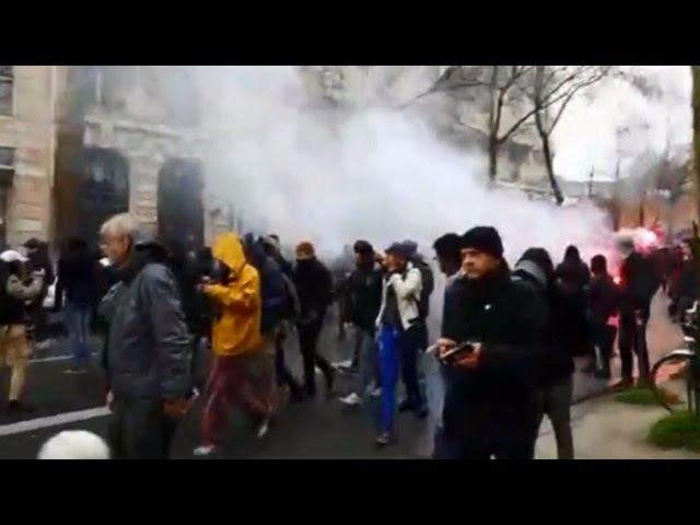 Live: Proteste in Paris gegen Abbau der Arbeitsrechte in Frankreich eskalieren - RT-Crew mittendrin