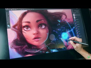 Художник Rossdraws рисует Принцесс Диснея. Artist Rossdraws draws Disney Princess