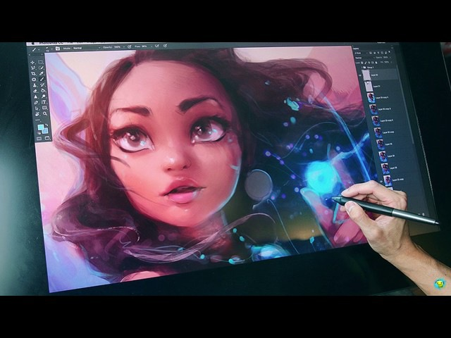 Художник Rossdraws рисует Принцесс Диснея Artist Rossdraws draws Disney Princess