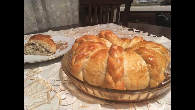 Пирог Монастырский с пикантной начинкой