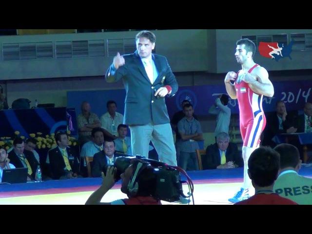 66 KG Finals - Omid Noroozi (IRI) vs Davor Stefanek (SRB)