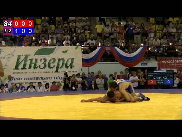 Мишин - Хугаев ЧР по греко-римской борьбе 2012