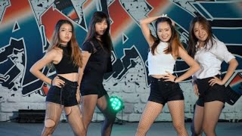 160827 จับฉ่าย cover BLACKPINK - BOOMBAYAH WHISTLE (Short Ver.) @ Esplanade Cover Dance3 (Au)