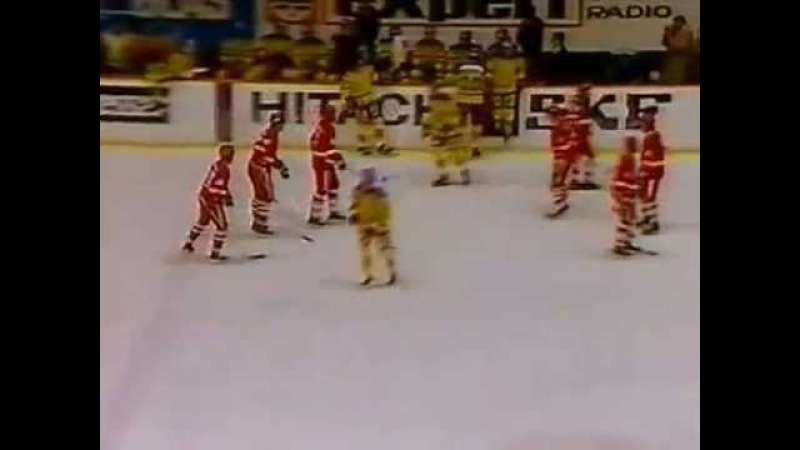 1983-11-12 Sweden Soviet Hockey Exhibition