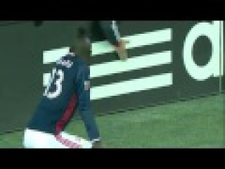 Kei Kamara goal & twerk and yellow card :-)