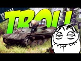 SUPER TROLL TANK- ZUT-37 Autocannon War Thunder Troll Gameplay