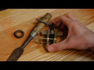 Restoring a Japanese chisel (nomi)