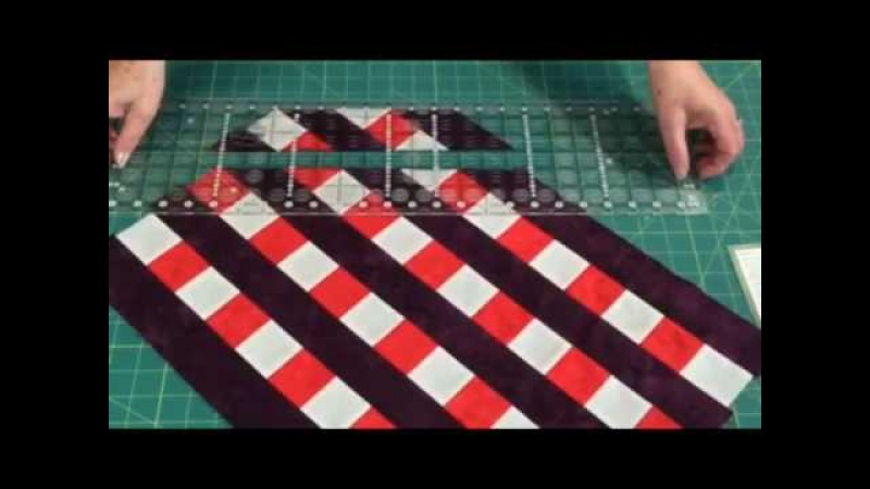 How to make Quarter Square Triangles -fast, easy and accurately