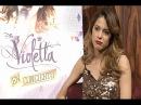 Martina habla de su gira europea con Violetta