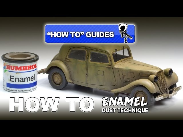 ENAMEL DUST TECHNIQUE - MODELLING HOW TO GUIDE