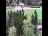 Летний лагерь Павла Ракова. Май 2017 г.  Флешмоб. Вид сверху