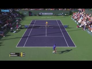 Federer, Djokovic Feature In Best Hot Shots Of Indian Wells 2015