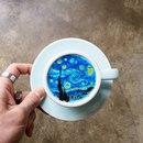 Корейский бариста Kangbin Lee к приготовлению кофе подходит с большой фантазией.