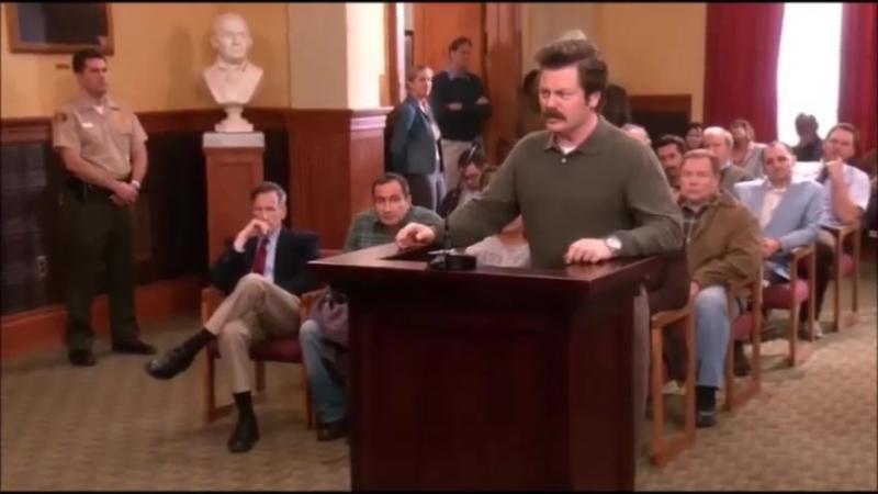 О вреде государственной поддержки от персонажа либертарианца из комедийного сериала