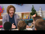 T.J. Miller Talks to Kids About the Holidays RUS SUB