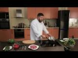 iCook Готовым классический стейк на сковороде- гриль.