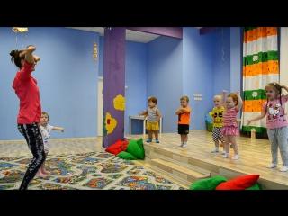 Танцевальная зарядка в детском саду! :-)
