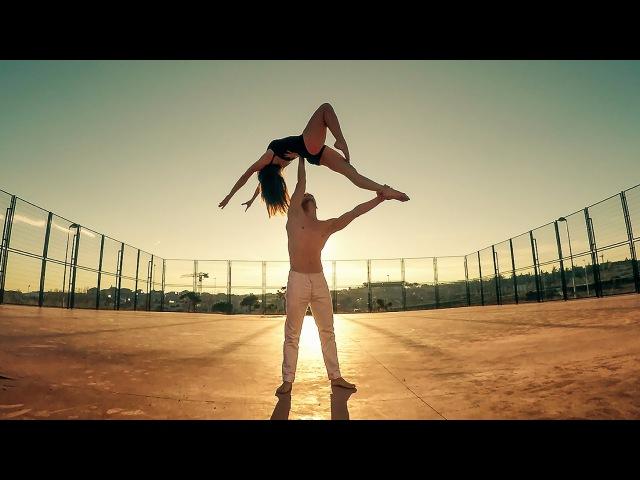 Duo b-lift || Unconditionally || Acro dance, lifts coreo HD || versión móvil.