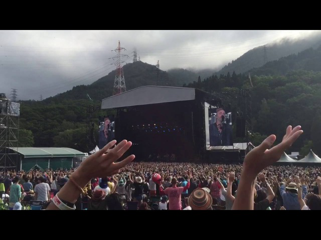 Travis - Why Does It Always Rain On Me? (live at Fuji Rock Festival 2016)