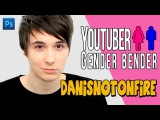 YOUTUBER GENDER BENDER