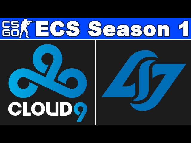 Cloud9 vs CLG - ECS Season 1 - BO3 - map1