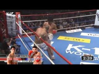Koya Urabe vs Paulo Tebar - K-1 Super Featherweight Tournament Semi Final (2) 9/19/2016