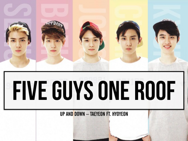 [EXO TRAILER/FMV] EXO CHEN X BAEKHYUN (BAEKCHEN/백첸) FIVE GUYS ONE ROOF (UPDOWN–TAEYEON FT. HYOYEON)