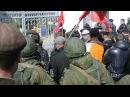 19 марта 2014 Крым Новоозёрное захват штаба ВМС