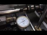 Настройка станка для обработки конуса