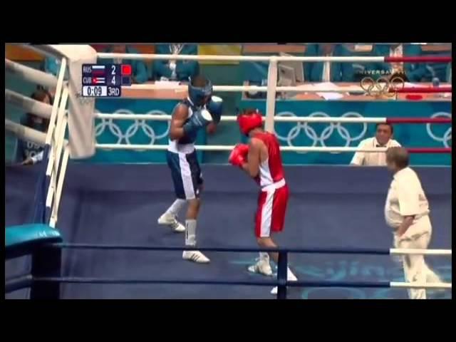 Олимпийские игры 2008, Пекин, бокс (boxing), 1/4 финала, Ковалев Геннадий-Roniel Iglesias