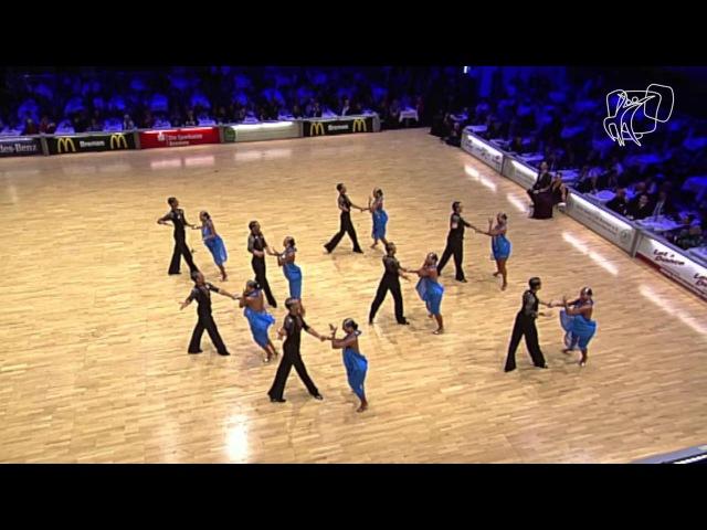 HSV Zwölfaxing A-Team, AUT | 2014 World Formation Latin | DanceSport Total
