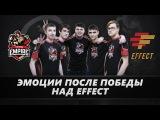Последние минуты матча против Effect #DAC @ Team Empire 2017