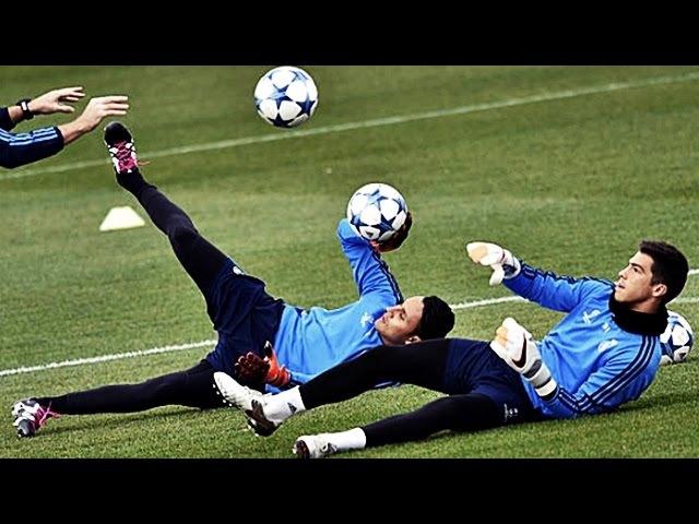 Real Madrid Goalkeeper Training Keylor Navas Kiko Casilla Secret to Success ● HD