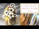 How to Make Chocolate Easter Egg Multi coloured design