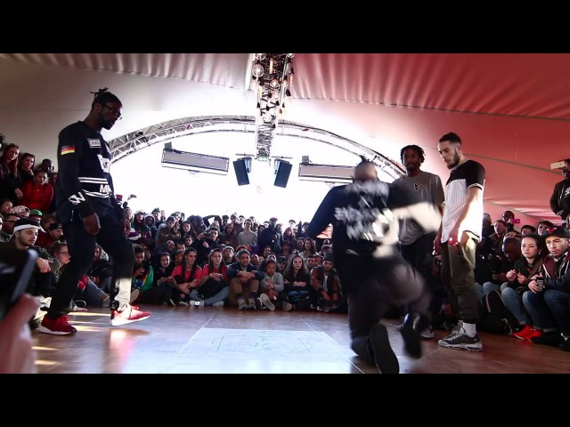 Juste Debout Paris 2016 Hip Hop Waydi Rochka vs Ben Ukay Top 32