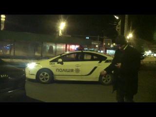 Театр одного актера (пьяный водитель, г. Харьков)