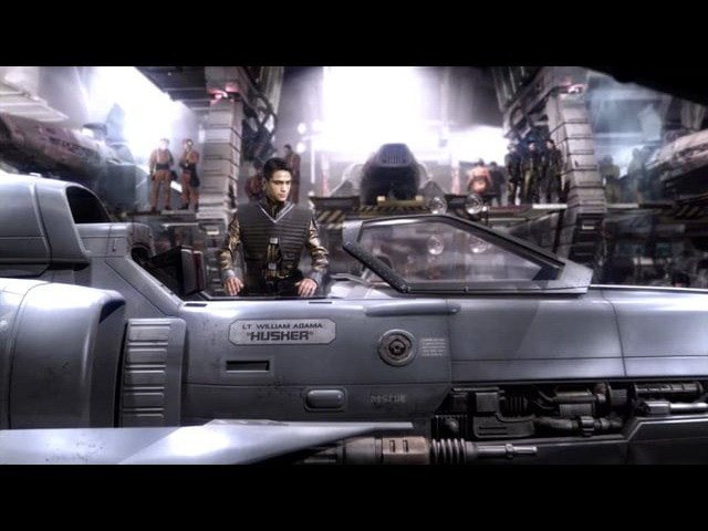 Battlestar Galactica - Blood and Chrome - CG_Ship Interiors_BEFORE-AFTERS_720p
