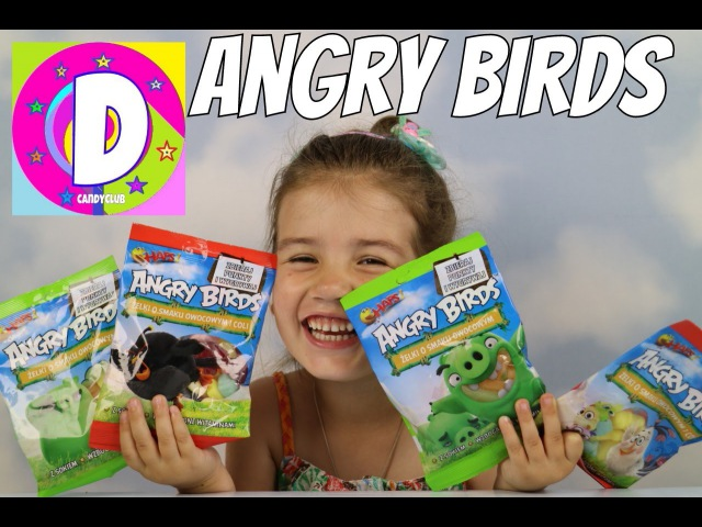 ✪ANGRY BIRDS ЖЕЛЕЙНЫЕ ЗЛЫЕ ПТИЧКИ РаспаковкаANGRY BIRDS Jelly Unpacking