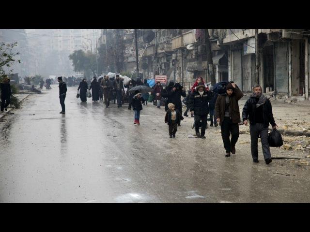 Syrie intenses négociations pour permettre lévacuation dAlep-Est