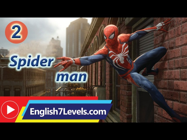 Learn English Through Story ★ Subtitles Spider man 2 elementery level