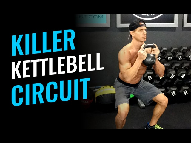 Killer Kettlebell Circuit Workout Of The Day