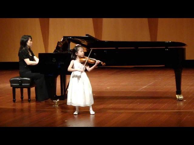 Introduction and Polonaise from Arabesken by Carl Bohm Violin. - Renee Toh(7yrs old)